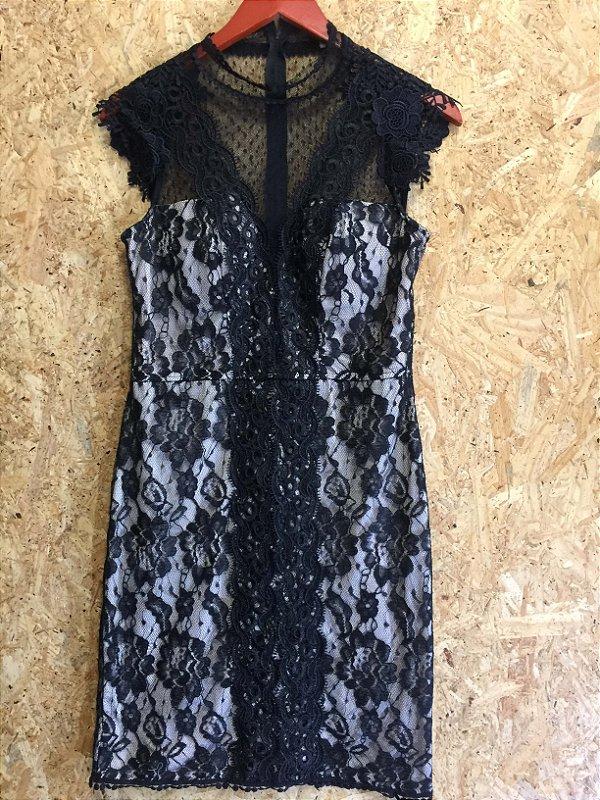 Vestido renda (40) - Blue kabana
