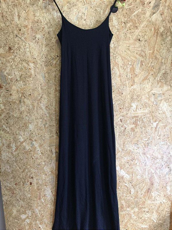 Vestido malha preto (P) - Lu Bretas