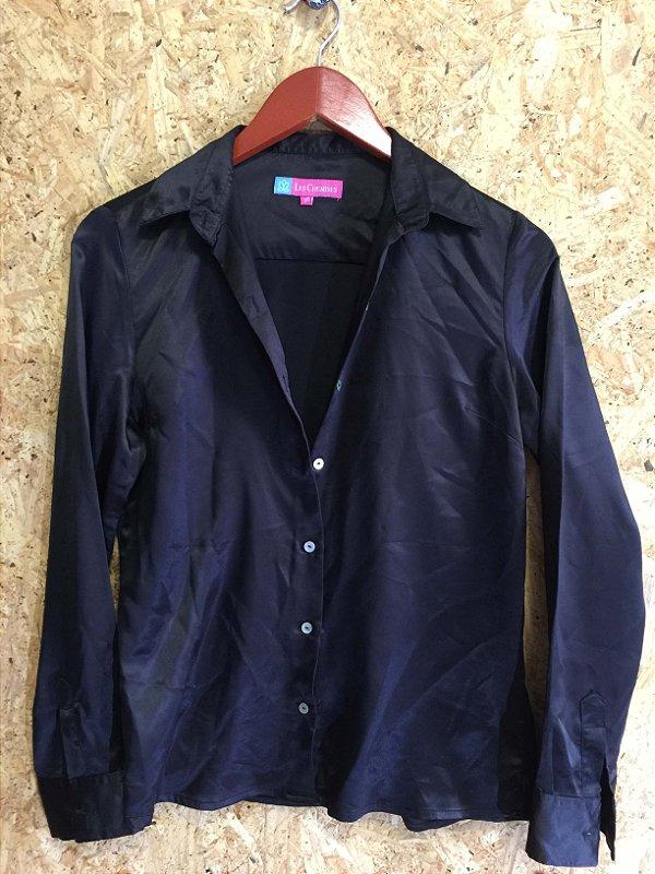 Camisa cetim (36) - Les Chemises