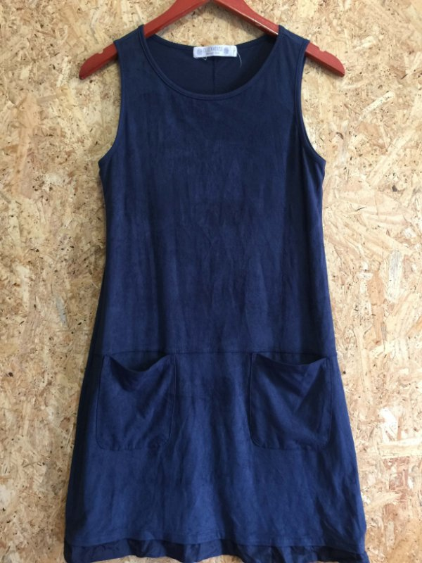Vestido suede (P) - C&A
