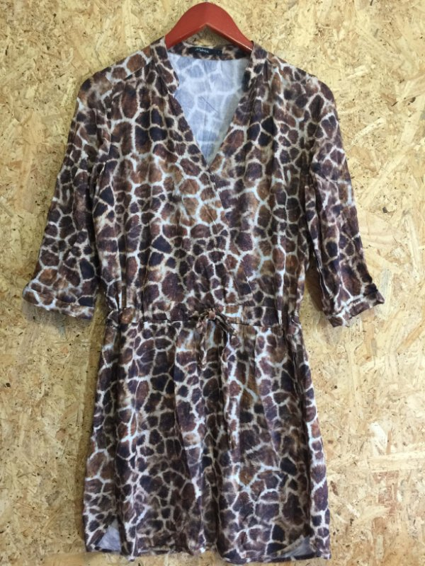 Vestido animal print (P) - Malwee