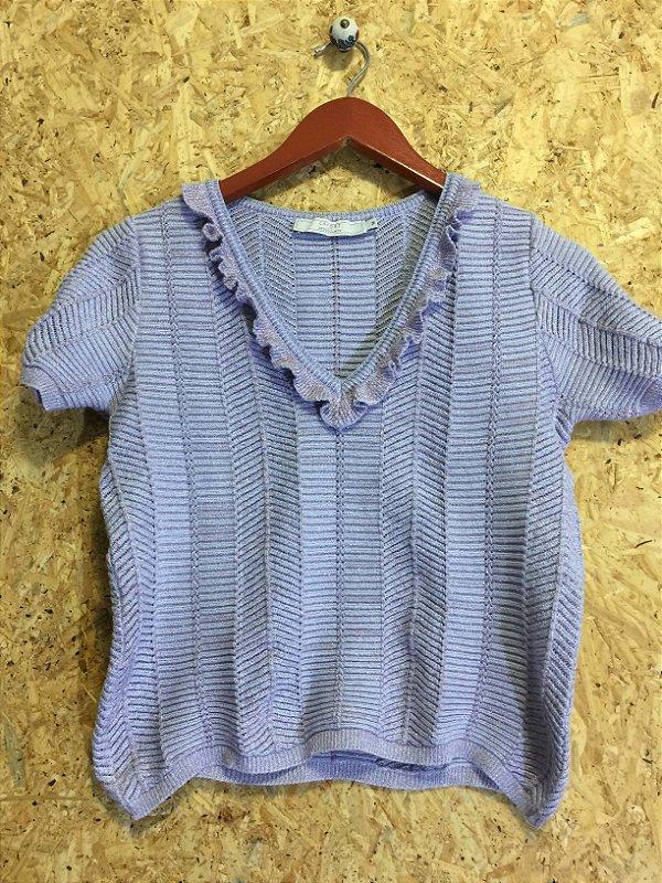 Cropped tricot (M) - Lafort para Zezé Duarte