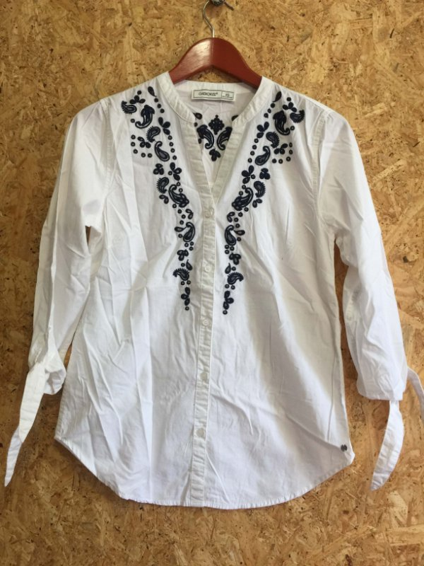 Camisa bordada (PP) - Cherokee