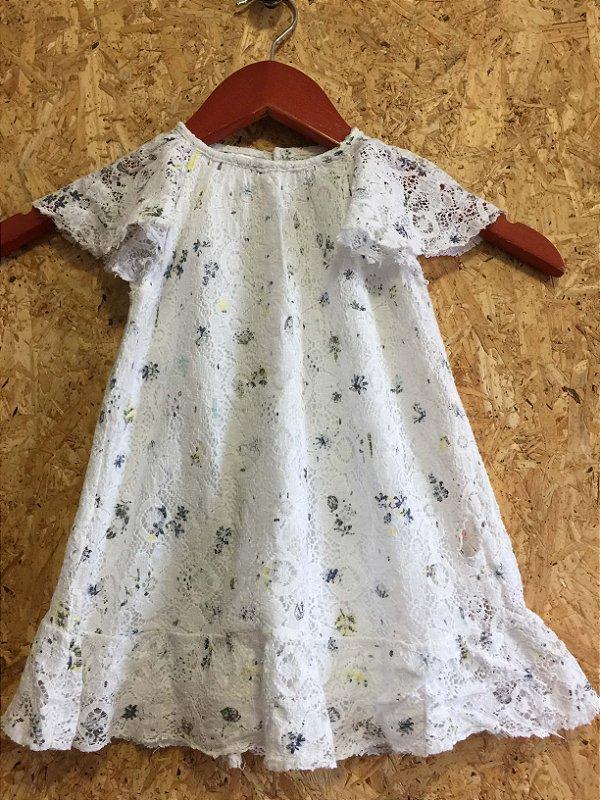 Vestido renda (12 a 18 meses) - Zara BabyGirl