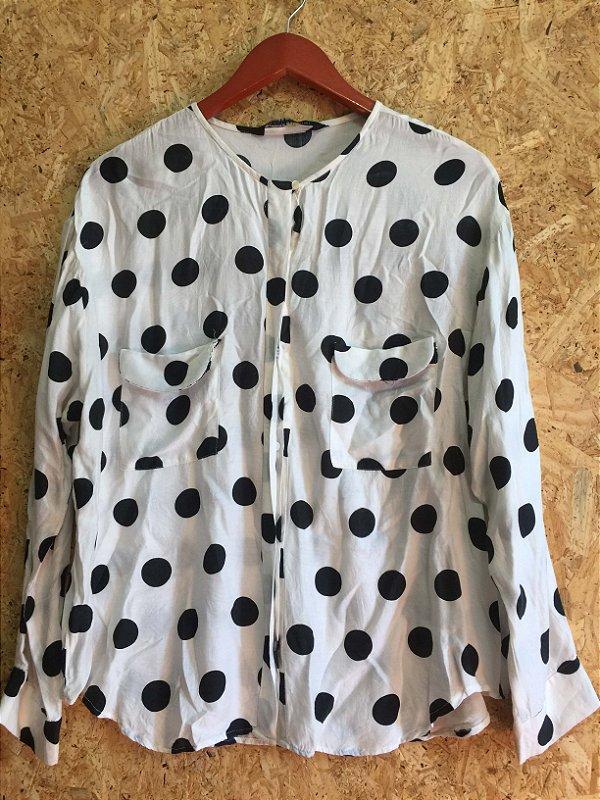 Camisa poá (G) - Zara