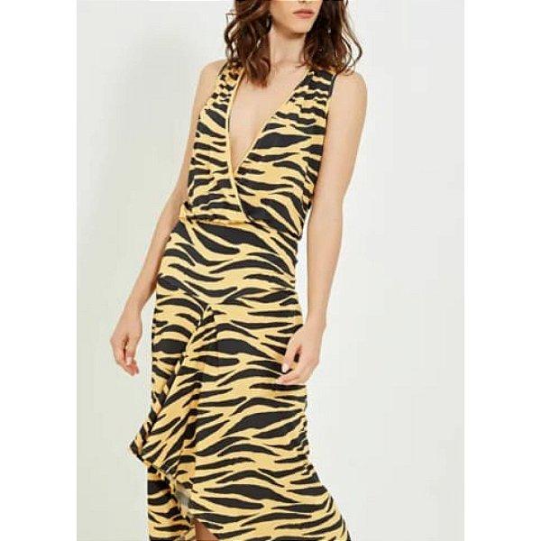 Vestido animal print (M) - Ateen