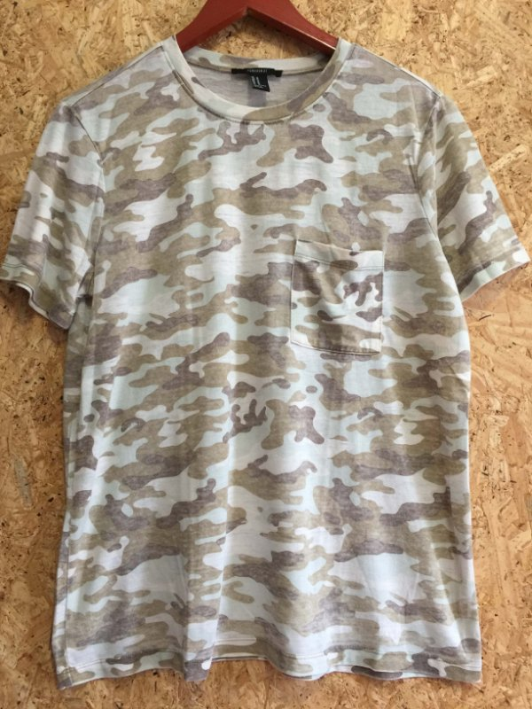 Tshirt exército (M) - Forever 21