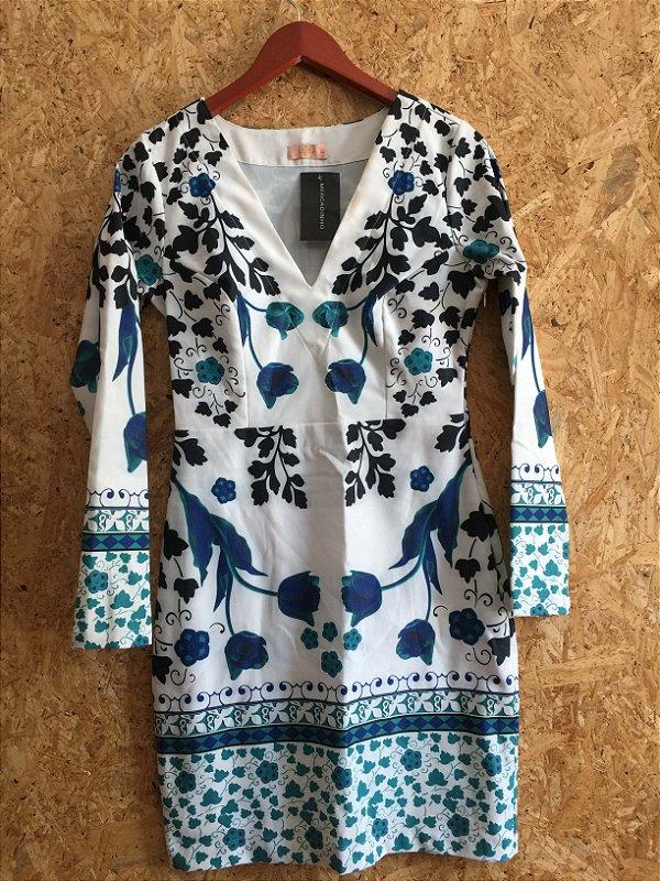 Vestido estampado (40) - Lafê