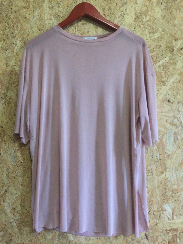 Camiseta telinha nude (U)