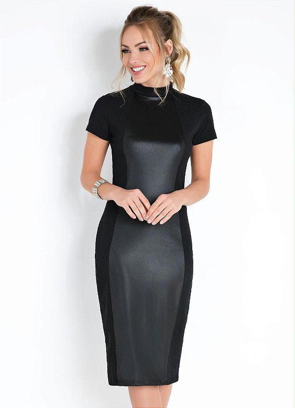 Vestido tubo preto (M) - Quintess NOVO