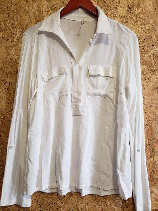 Camisa off white  (G) - Heaven