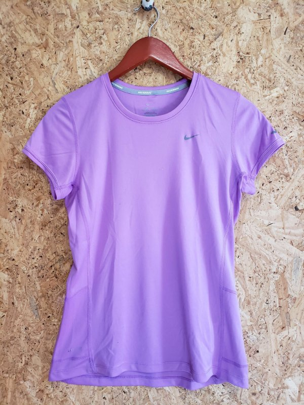 Blusa fitness lilás (P) - Nike