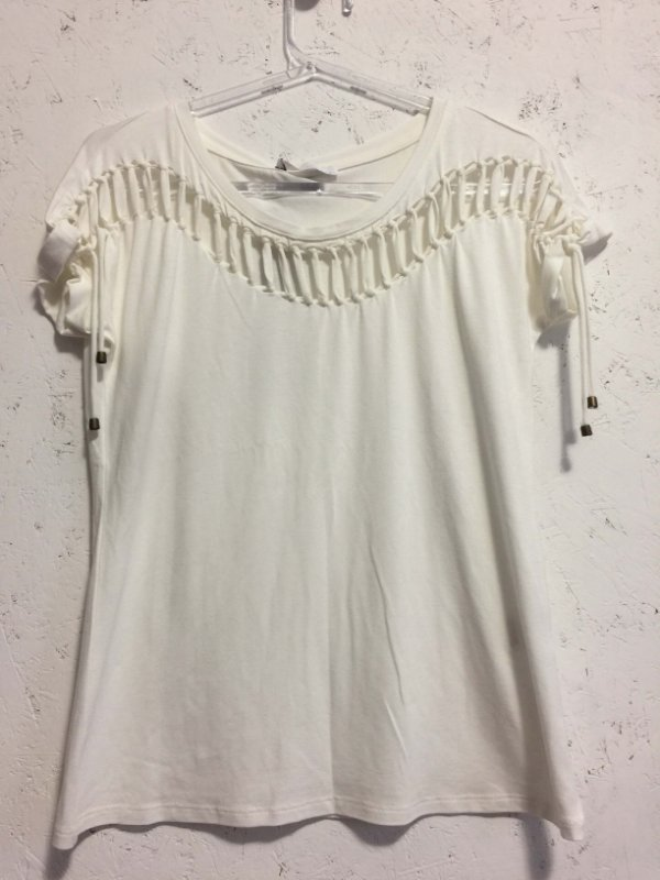 Blusa tiras ofwhite (PP) - Its & co NOVA