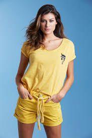 Short amarelo (36) - It's & Co NOVO