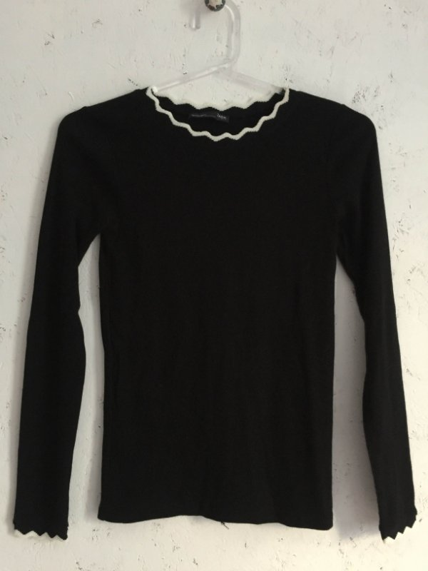 Blusa manga longa (P) - Zara