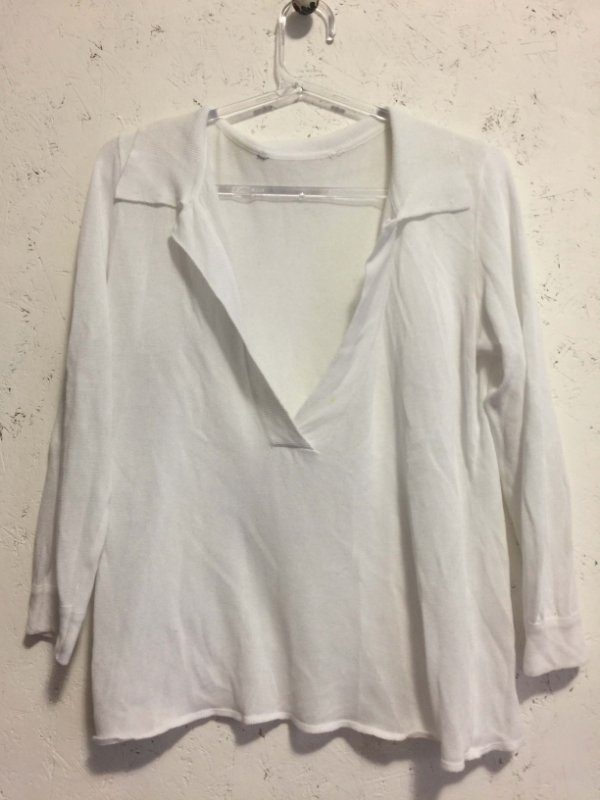 Blusa manga longa e gola (P)