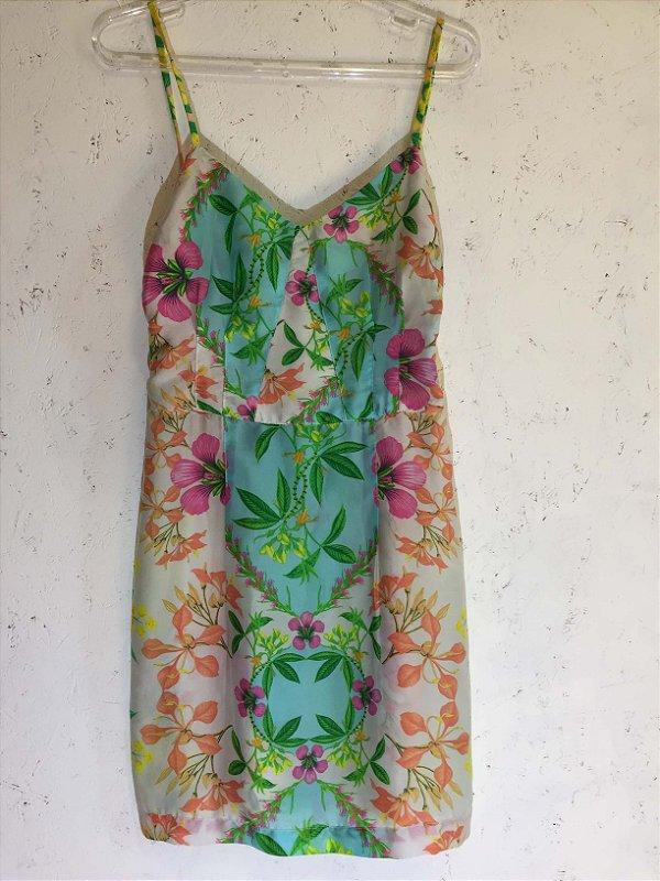 Vestido alcinha (P) - Farm