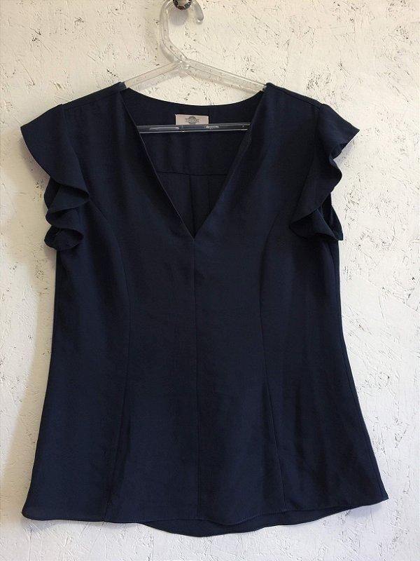 Blusa azul (P) - Toujours