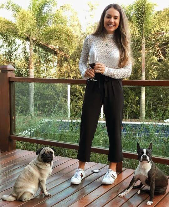 Calça pantacourt (36) - Marillia Pitta