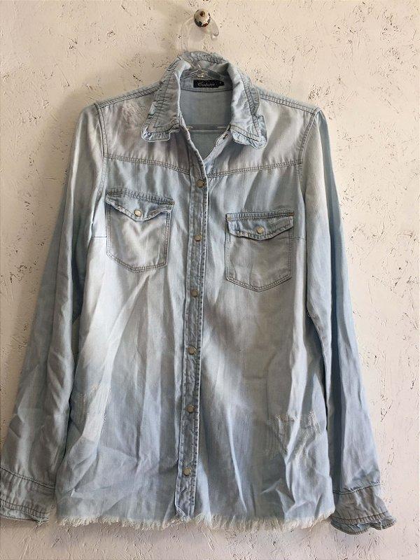 Camisa jeans (P) - Costume