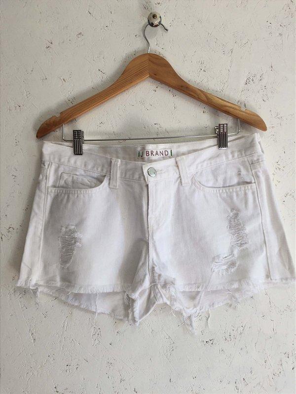 Short white jeans (40) - J Brand