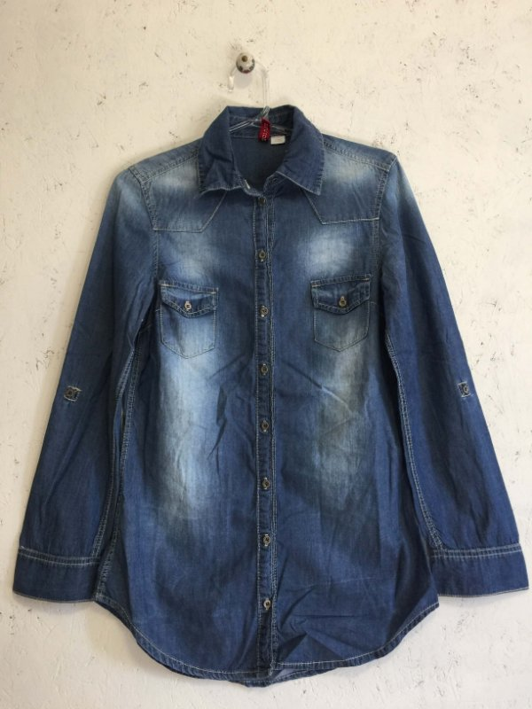 Camisa jeans - H&M