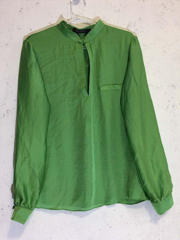 Camisa verde ( M) - Tricanti
