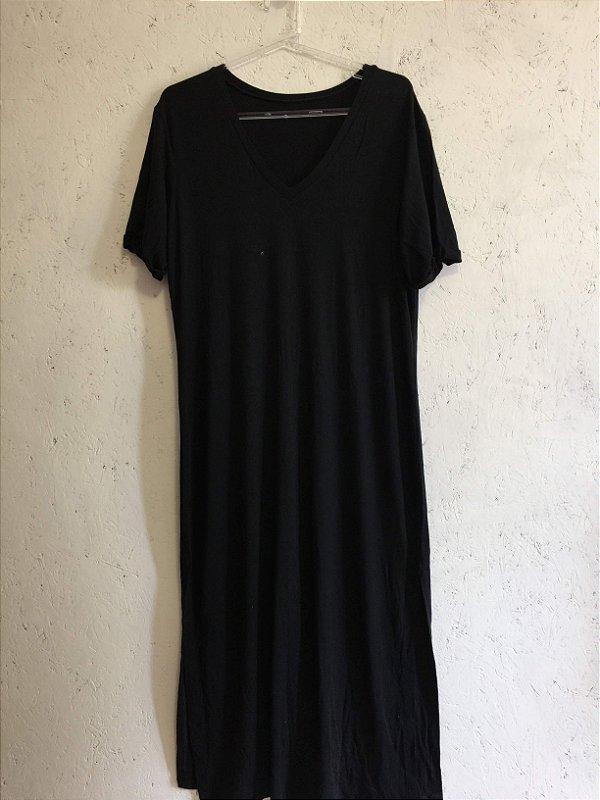 Vestido preto (G) - Rice and Beans