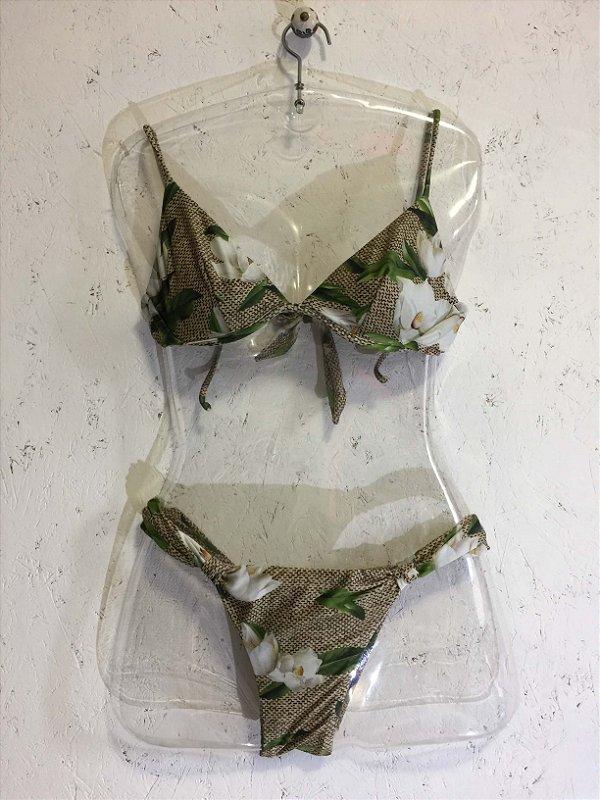 Biquini flores (P) - Lenny Niemeyer
