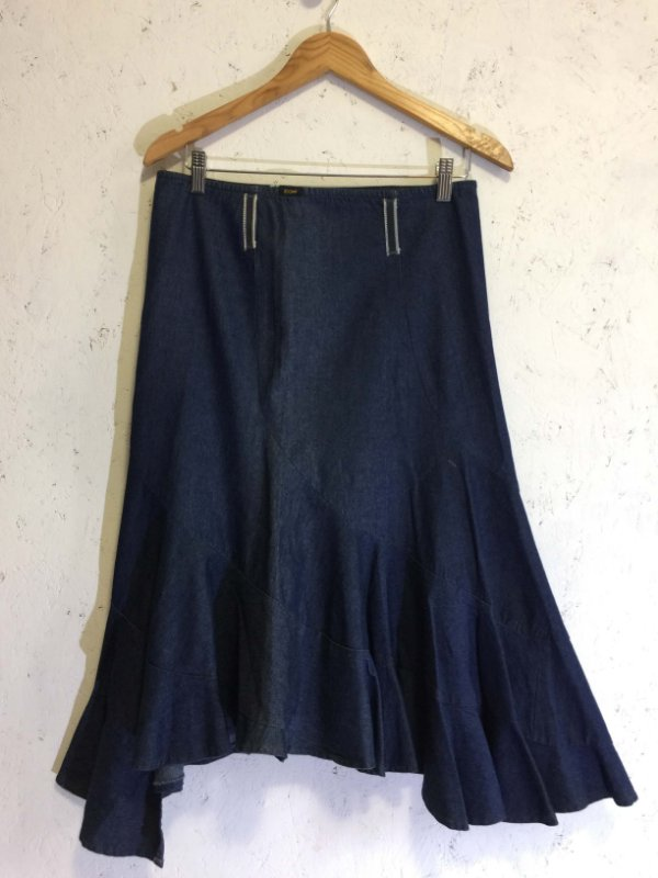 Saia jeans (38) - Zoomp