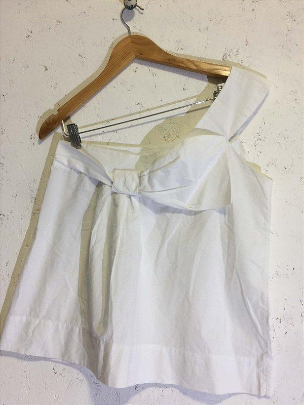 Camiseta laço (P) - Le Lis blanc