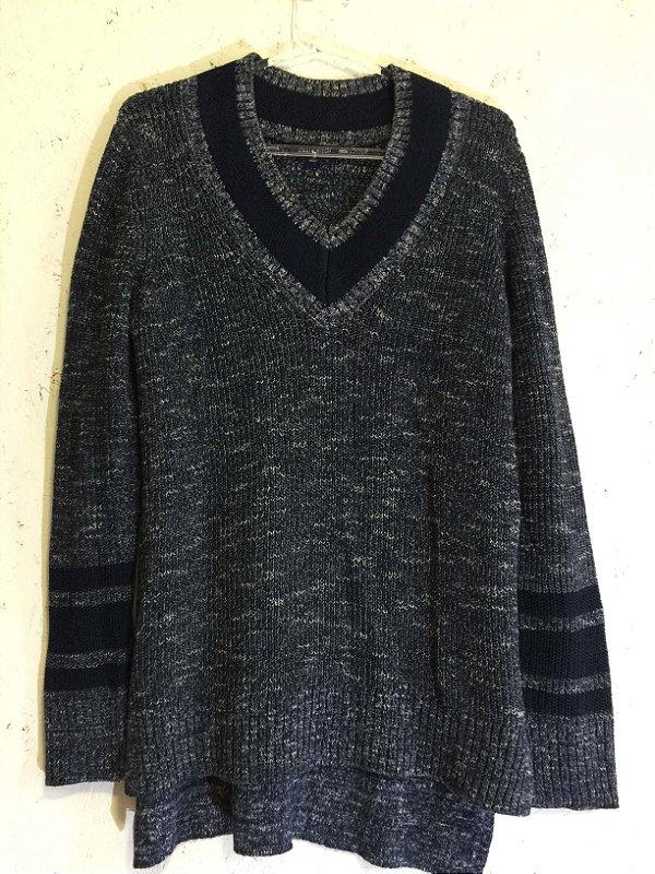 Blusa tricot azul (P) - Tommy Hilfiger
