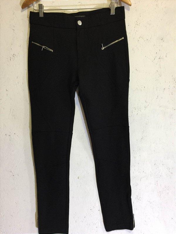 Calça legging algodão (G) - Zara