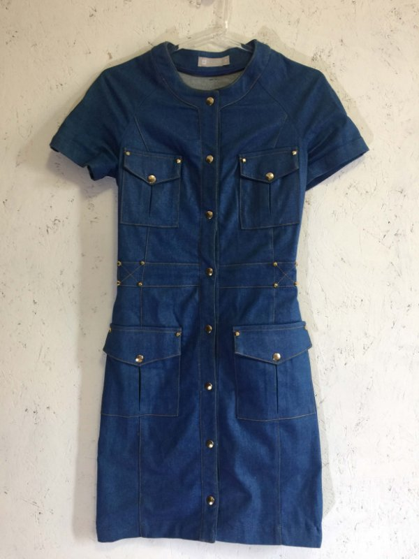 Vestido jeans (P) - Tritt