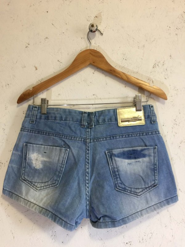 Short jeans spikes (38) - Sawary