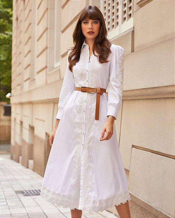 Vestido branco (M) - Anne Fernandes