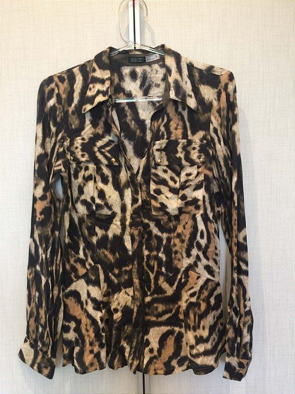 Camisa animal print (P) - K9