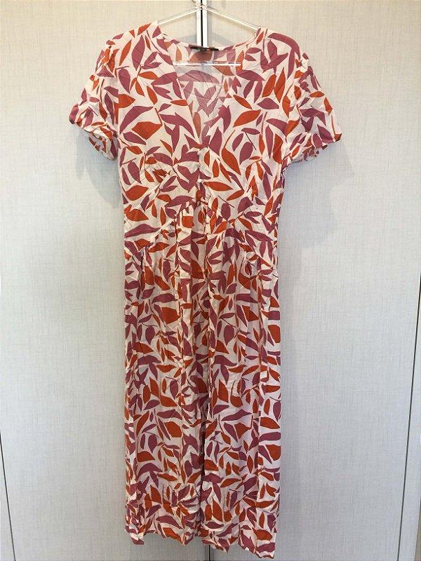 Vestido folhas (P) - YSC