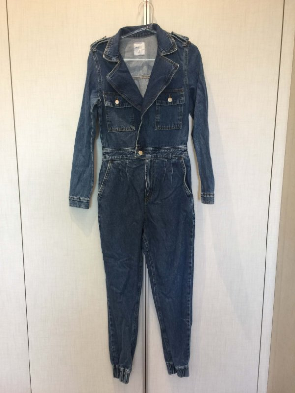 Macacão jeans (P) - Bluesteel