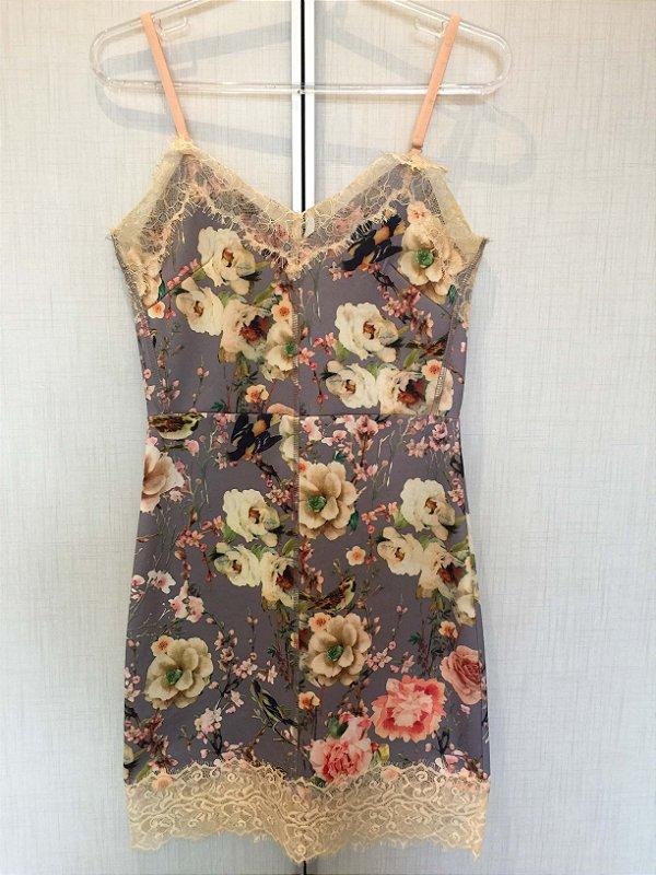 Vestido flores (P) - Gracia