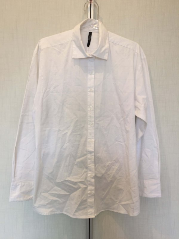 Camisa branca amarração xadrez (40)