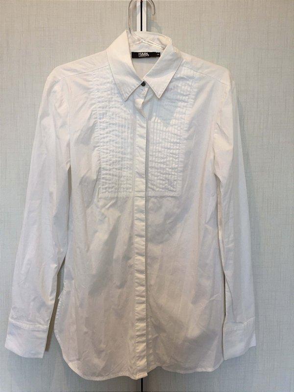 Camisa branca (40) - Karl Lagerfeld  para Riachuelo