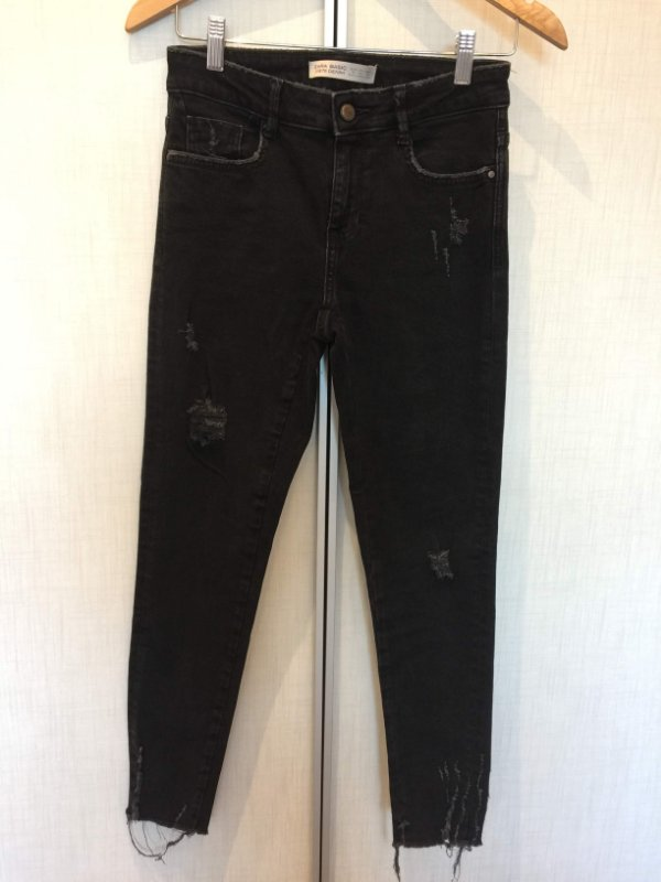 Calça black jeans (36) - Zara