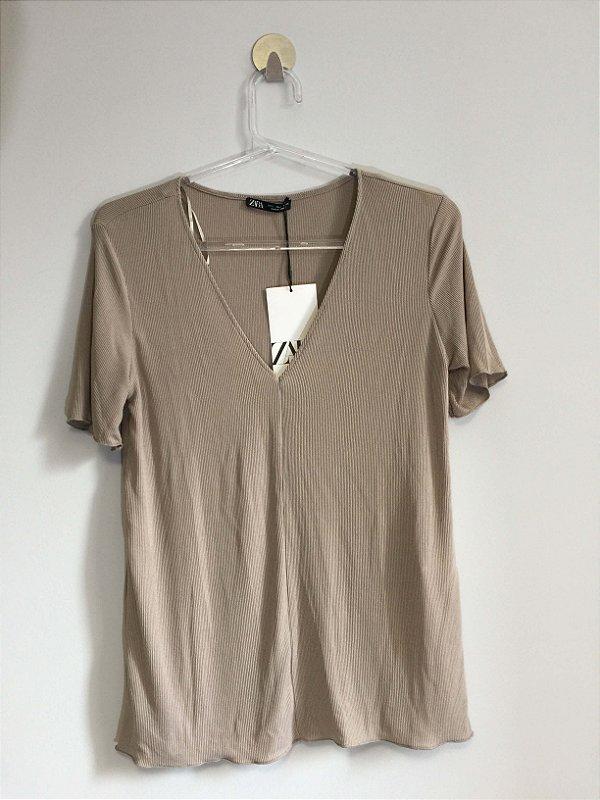 Blusa básica (P) - Zara NOVA