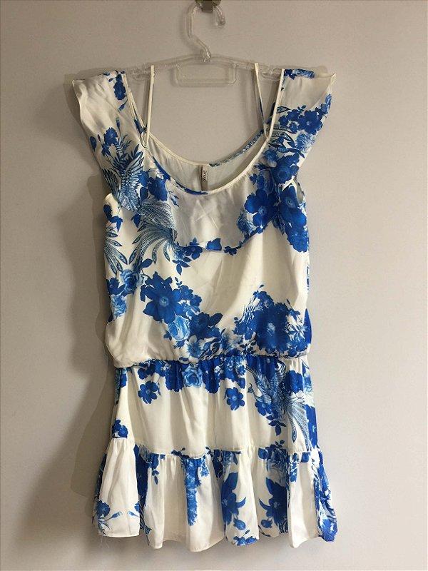 Vestido flores azuis (40) - Iorane