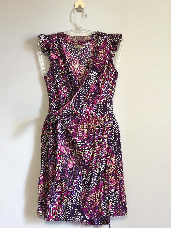 Vestido transpassado (P) - Mercatto