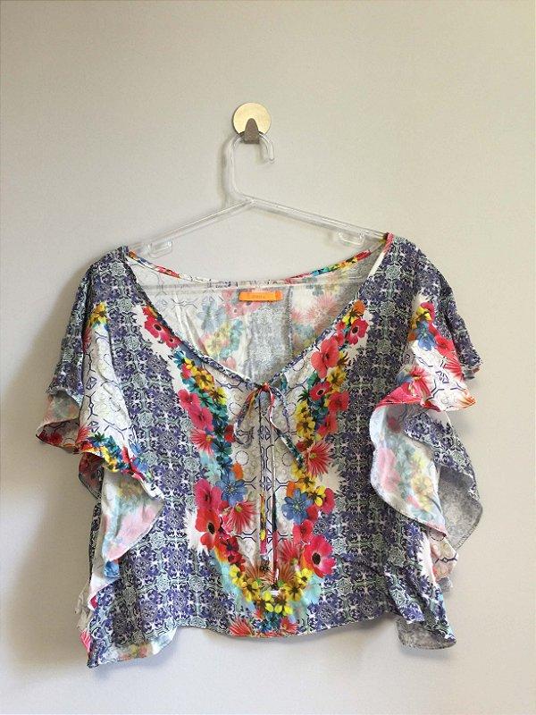 Blusa cropped (M) - Dress.to