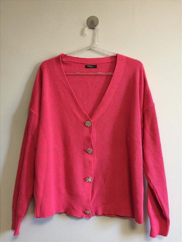 Blusa tricot pink (M) - Le Blog