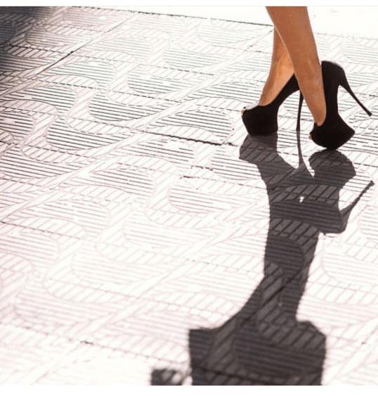 Sapato Peep Toe (35) - Schutz