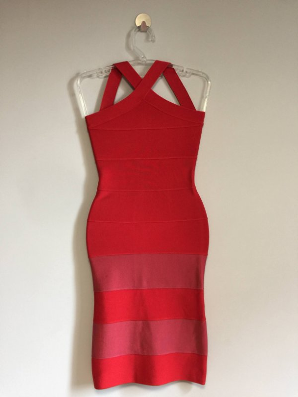 Vestido bandagem red (PP) - Lollita